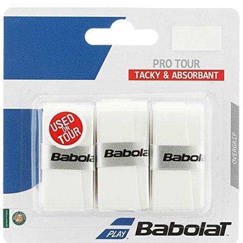 Babolat Pro Tour Overgrips (White)