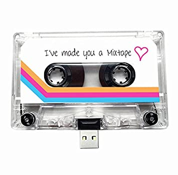 Geek Christmas Gifts.Usb Mixtape Retro Quirky Gift Music Cool Cute Love
