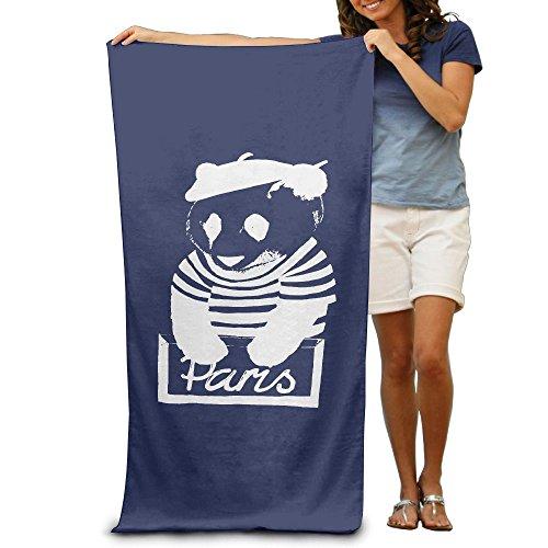 Kung Fu Panda Costume Pattern (ShanxianP Wear A Hat Of Panda Soft Absorbent Beach Towel Pool Towel 3050)