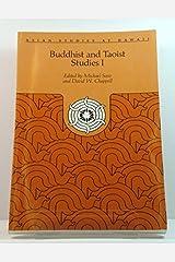 Buddhist and Taoist Studies (Asian Studies at Hawaii, No. 18, <34) (v. 1) Paperback