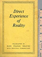 Direct experience of reality by Hari Prasad…