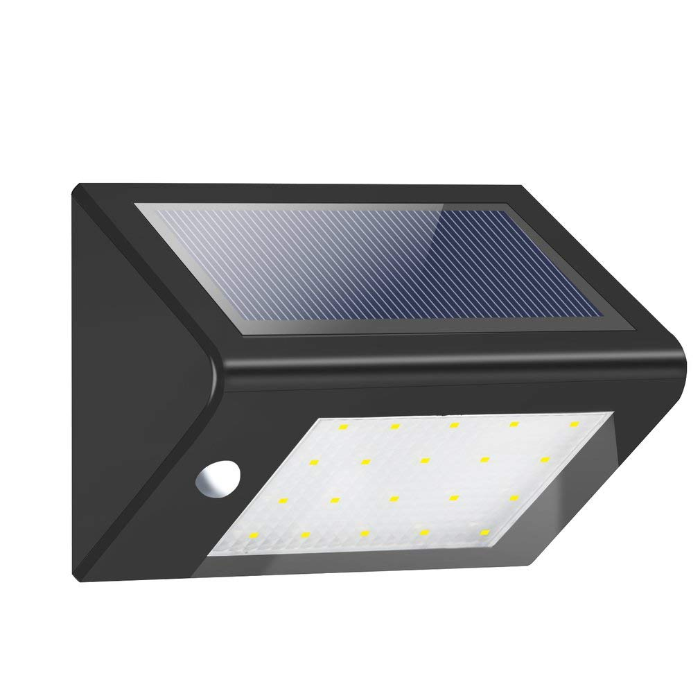 Chennly Solar Light - 20 LED 3.5W 440 LM Solar Power Light Lamp with Long Lighting Hours & Energy-Saving, Bright Infrared Induction Garden Lamp