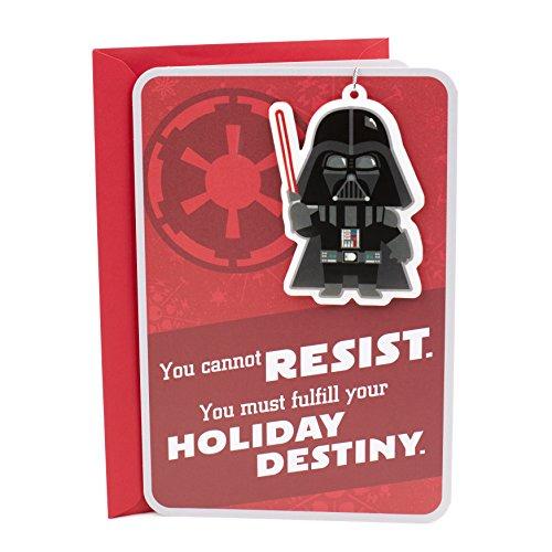 Ornaments Christmas Card (Hallmark Christmas Greeting Card (Star Wars Darth Vader Ornament))