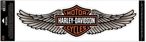 HARLEY-DAVIDSON Straight Wing Decal Tan 5XL Size Sticker