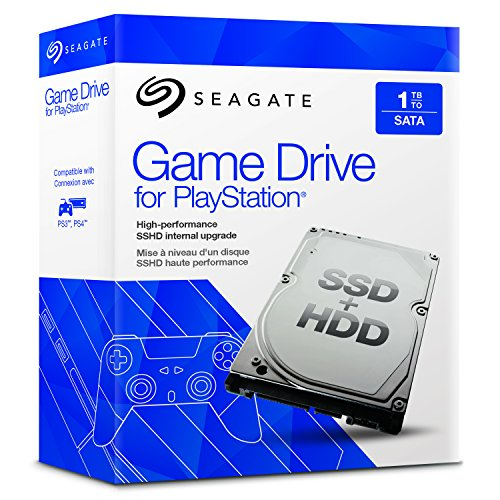 Seagate Game Drive für PlayStation, 1TB  SSHD (STBD1000101), 2,5 Zoll, SATA