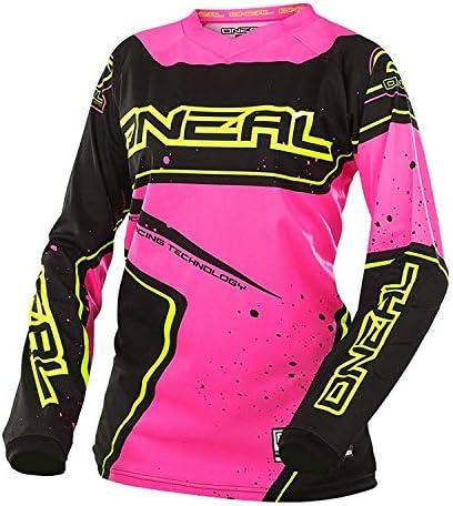 O Neal Element Fr Jersey Damen Trikot Lang Racewear Pink Schwarz 2017 Oneal Größe M 48 50 Bekleidung
