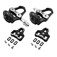 Eltin EP5101 Road Bike Pedals with Cleats Compatible Look KEO