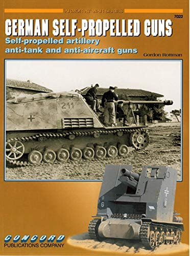 - German Self-Propelled Guns (Armor at War Series)