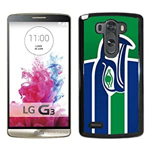 retro seattle seahawks Black Popular Sell Customized Design LG G3 Case