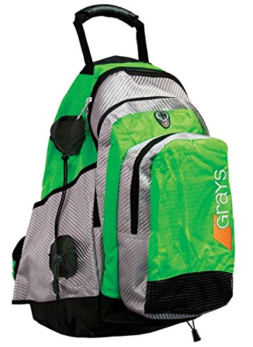 Grays Field Hockey Backpack NEON Green/Silver
