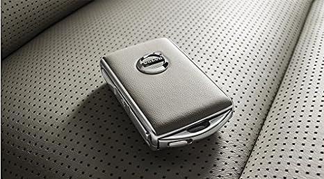 S90//V90//V90CC XC60 MJ18 Transponderschl/üsselgeh/äuse Wei/ß Volvo Original XC90 MJ16 Leder