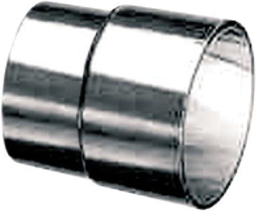 /Ø 80 mm Schiedel Prima Plus Doppelwandfutter f/ür Ofenrohr
