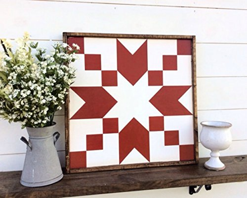 Barn Quilt Stepping Stones Barn Quilt