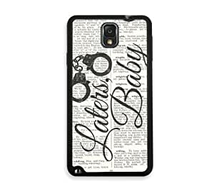 Shawnex Laters baby on dictionary Samsung Galaxy Note 3 Case - Fits Samsung Galaxy Note 3 Note III