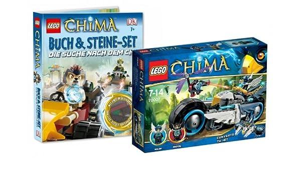 Lego Legends of Chima Juego – 70007 eglors Power de Bike y Chima ...