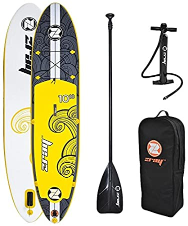 Zray X2 Tabla de Remo Inflable de 330 cm, Color Amarillo.