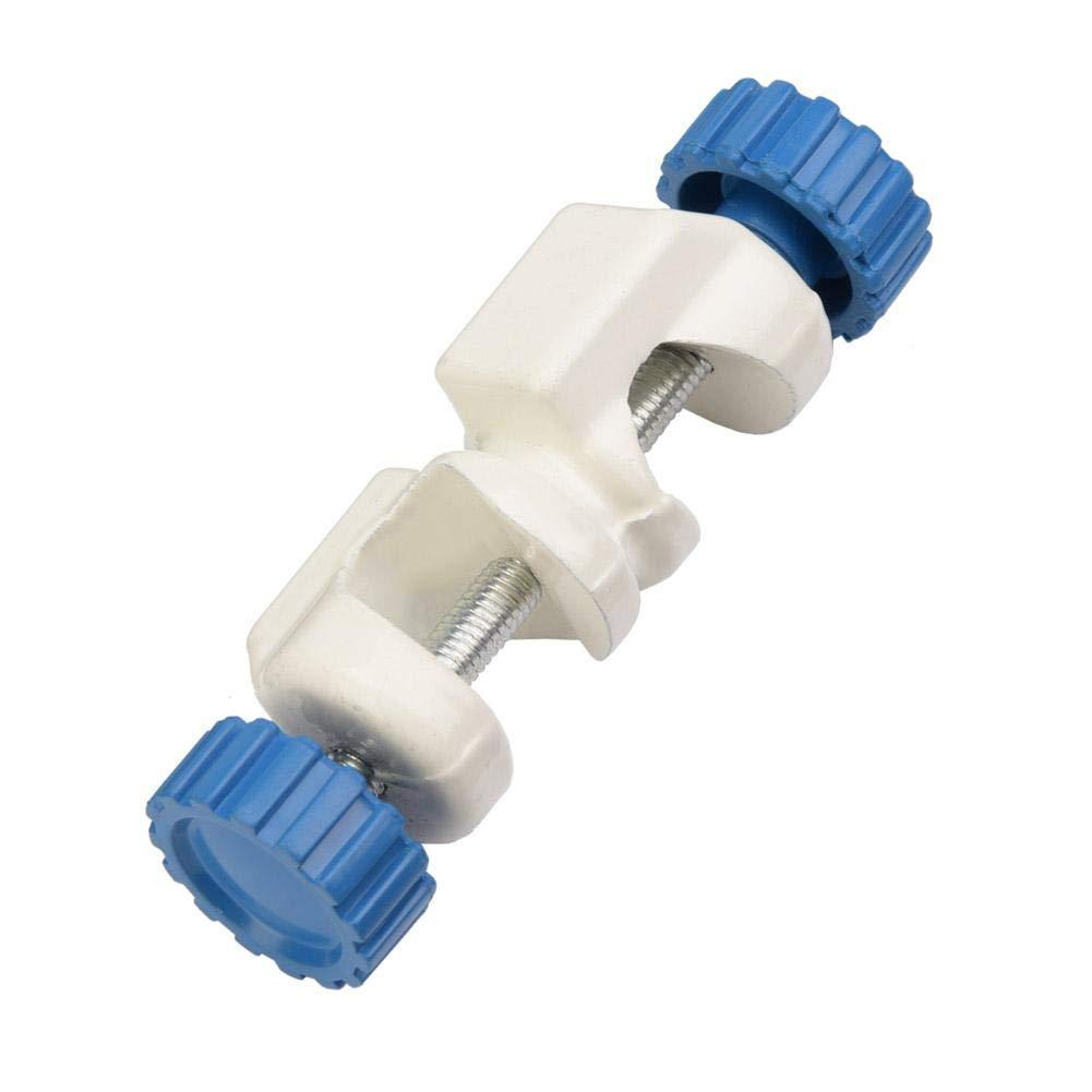 Pinces de Laboratoire /à Angle Droit Pinces de Laboratoire Type British Poign/ée en m/étal Clamp Pinces Porte-Laboratoire Support