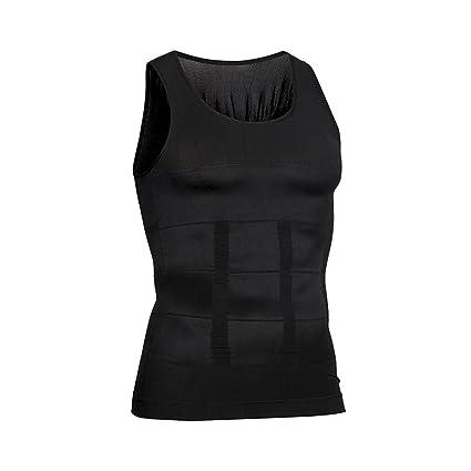caa981d2119b3f Amazon.com   Hoter Mens Body Shaper Slimming Vest
