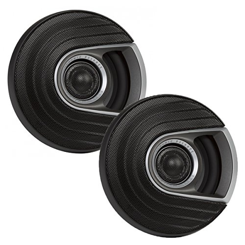 Marine Audio Boat Speakers - Polk Audio MM1 Series 5.25 Inch 300W Coaxial Marine Boat ATV Car Audio Speakers,Black