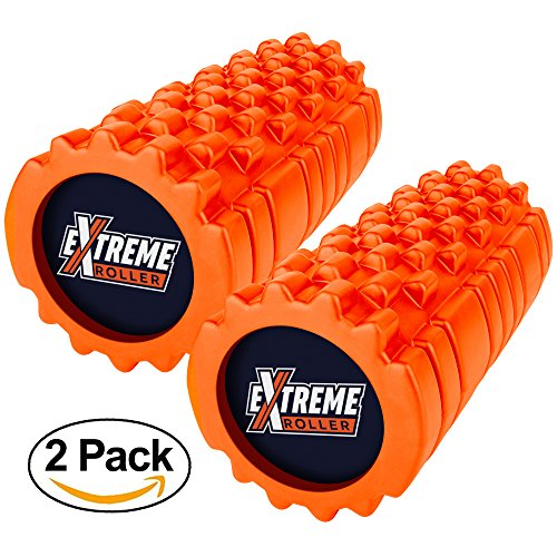 Epitomie Fitness High Density Foam Roller for Muscles – Palm & Finger Dual Pressure Zones - For Exercise, Deep Tissue Massage, Back Pain, Physical Therapy, Yoga, Pilates, Running/Sports Soreness
