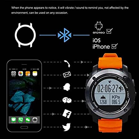 S928 Bluetooth Smartwatch Intelligente,GPS Orologio Da Polso ...