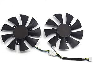 inRobert GA91S2H 85mm Video Card Fan Replacement Cooler for ZOTAC GTX 1070 Mini (Screw Hole Distance 40x40x40mm) Graphic Card
