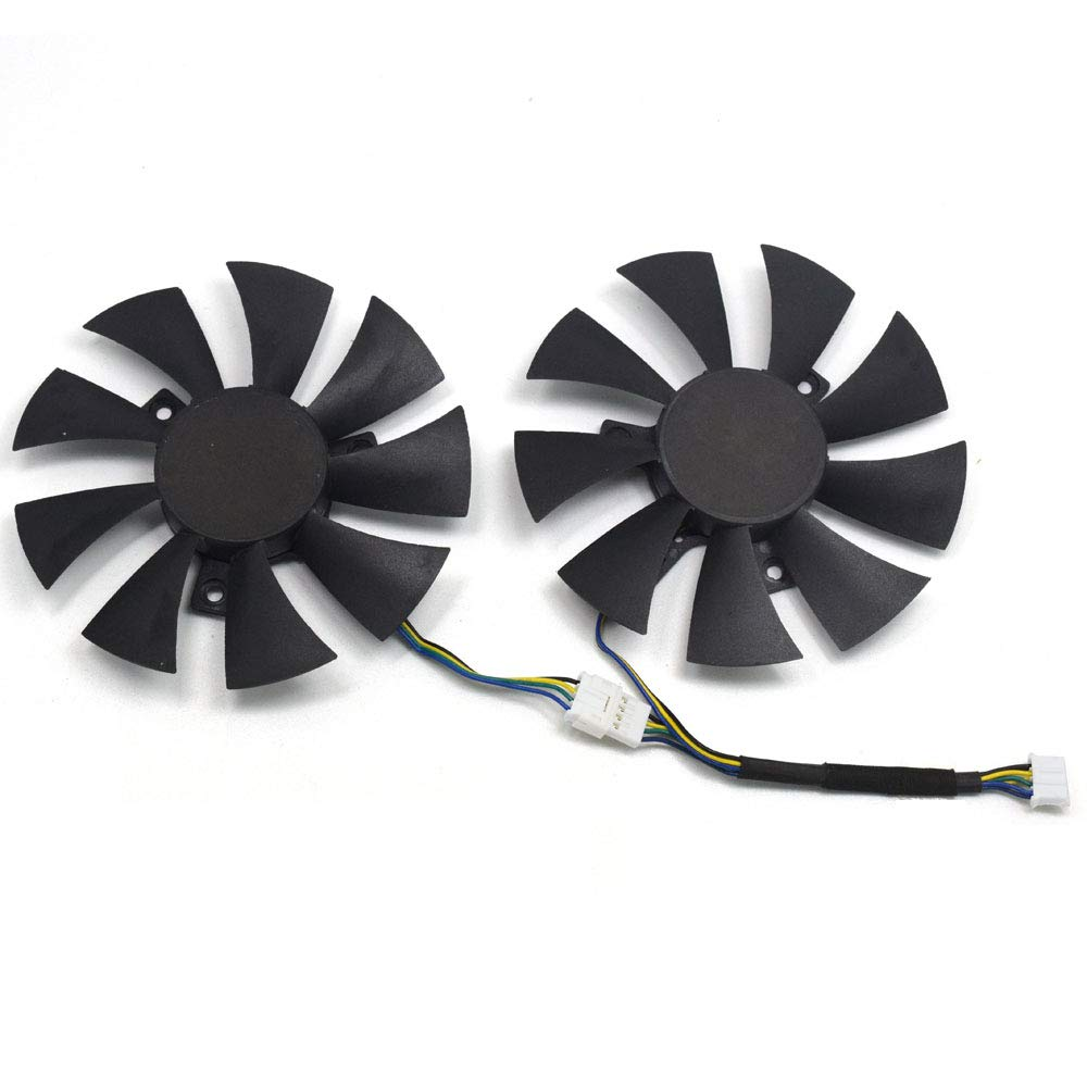 inRobert 85mm Video Card Fan Cooler Fan for ZOTAC GTX 1070 Mini (ZT-P10700G-10M), GTX 1060 AMP Edition Graphic Card