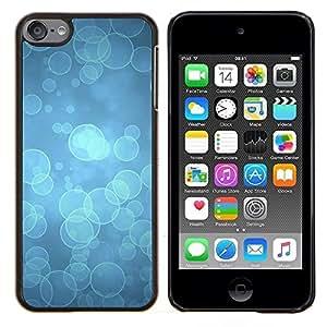 Blue Water buceo Océano Luz- Metal de aluminio y de plástico duro Caja del teléfono - Negro - iPod Touch 6