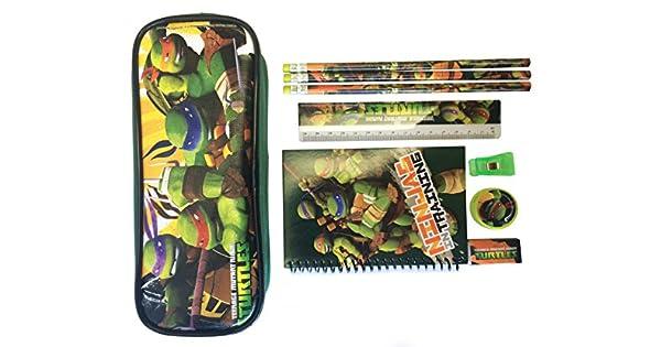 Amazon.com: Ninja Turtles lápiz caso y artículos de ...