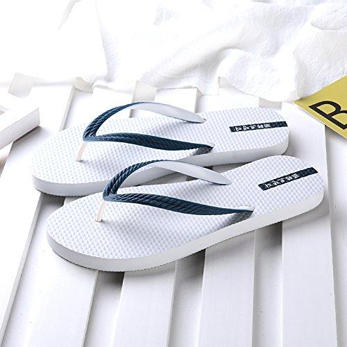 Qingchunhuangtang Pantofole Estate E Ciabattine Con Flop Flip Bianco rrZIz