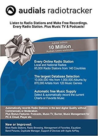 Audials radiotracker download.