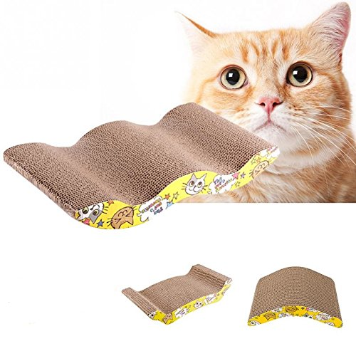 Pet Cat Toy Cat Scratcher with Catnip Lounge Handmade Kitten Scratching Post Interactive Toy For Pet Cat Training