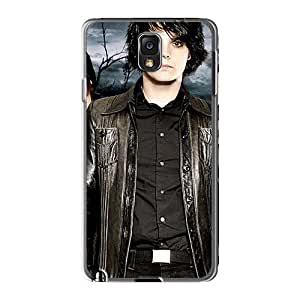 High Quality Hard Cell-phone Case For Samsung Galaxy Note3 (Fyz19091QreP) Custom Colorful My Chemical Romance Band Pattern