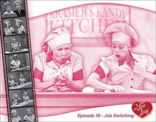 Desperate Enterprises I Love Lucy - Job Switching Tin Sign, 16