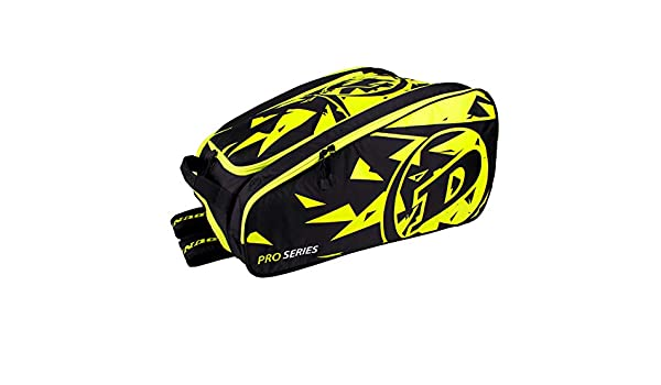 Amazon.com : Dunlop Sports Pro Series Thermo Padel Racquet Bag (Black/Yellow) : Sports & Outdoors