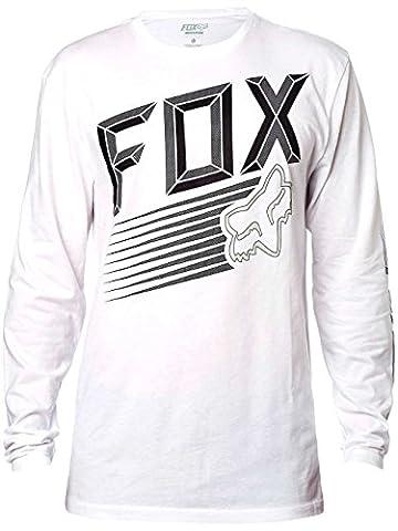 Fox Men's Efficiency LS T Shirt White (Fox Mx Shirts)