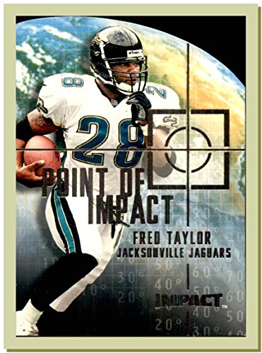 2000 Skybox Impact Point of Impact #PI5 Fred Taylor JACKSONVILLE JAGUARS FLORIDA GATORS