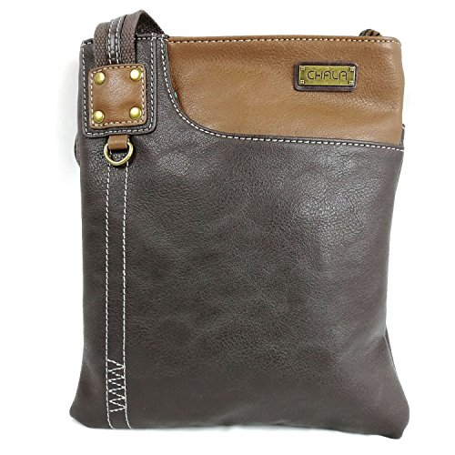 fob Leather Dog Detachable Brown Chala Bag Phone SWING Mini 609 Purse with PU SOFT Crossbody Key 7Zxqwa