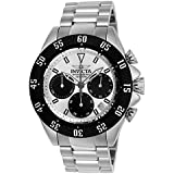 Invicta Men's 'Speedway' Quartz Stainless Steel Casual Watch, Color:Silver-Toned (Model: 22392)