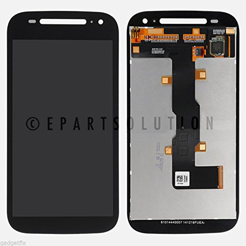 (ePartSolution_OEM Motorola Moto E 2nd Gen XT1524 XT1505 XT1527 LCD Display Touch Screen Digitizer Assembly Black Replacement Part USA Seller )