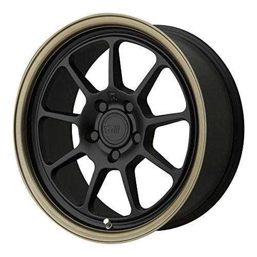 Motegi MR135 17x9.5 Black Bronze Wheel / Rim 5x120 with a 45