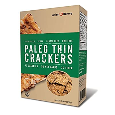Julian Bakery Paleo Thin Crackers - 8.4 oz from Julian Bakery Inc