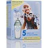 Baby Bottles Disposable - Ready to Use - 5Pk - 9oz - Use and Throw Bottle