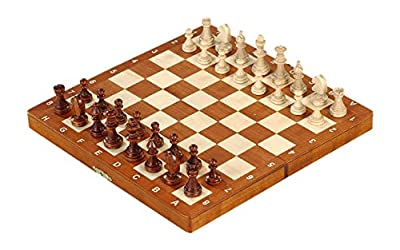 Magnetic Folding Inlaid Chess Set