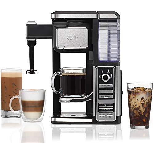 Ninja CF110 Coffee Bar Single Serve System with Auto IQ (Certified Refurbished)