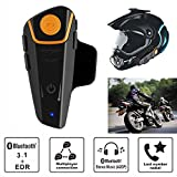 BT-S2 1000m Bluetooth Motorcycle Helmet Intercom Headset Interphone GPS FM Radio