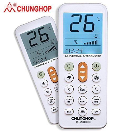 Chunghop Universal Remote for Air Conditioner Conditioning C
