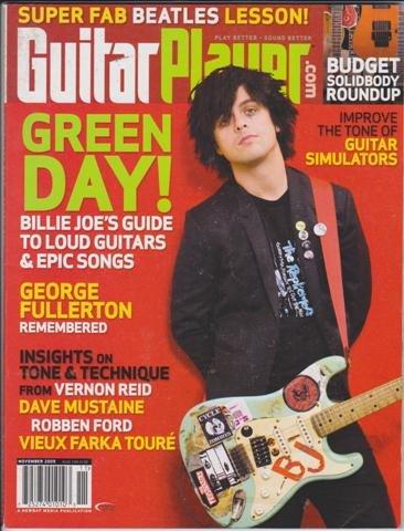 guitar player magazine november 2009 green day billy joe s guide rh amazon com C Chord Guitar Vintage Guitar Guide