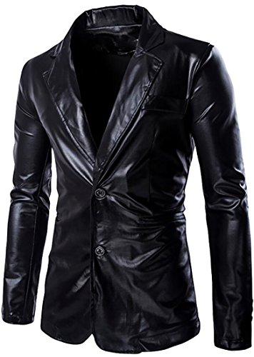 1980's Mens Leather Jacket - 5
