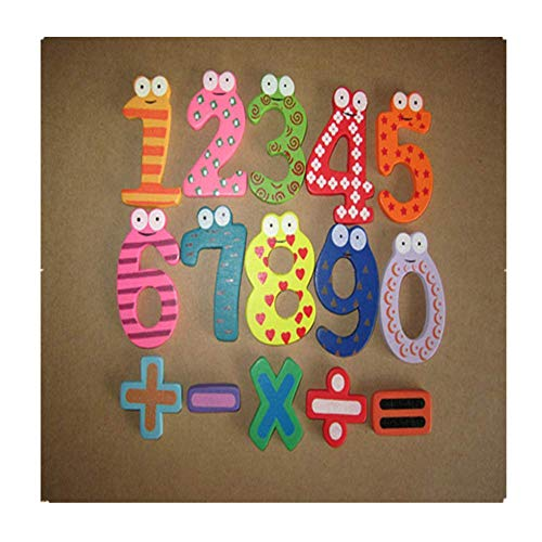 Zaidern Magnetic Wooden Numbers Math Set Digital Baby Educational Toys Great Gift for Kids/Baby/Children/Adults